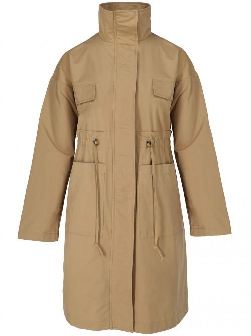 Płaszcz wiosenny ze stójką