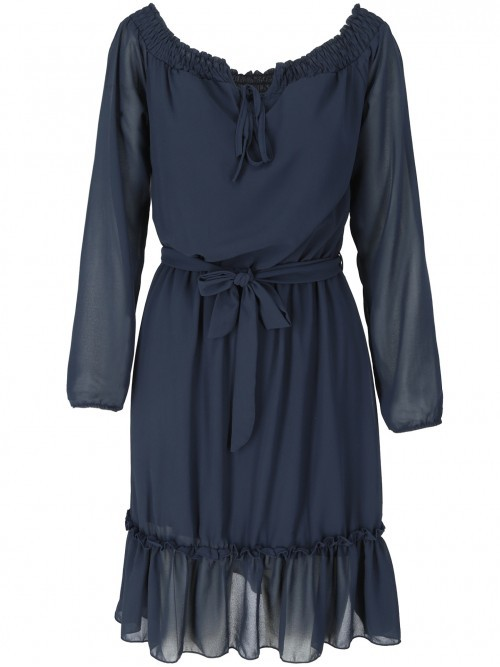 Zwiewna sukienka damska-hiszpanka