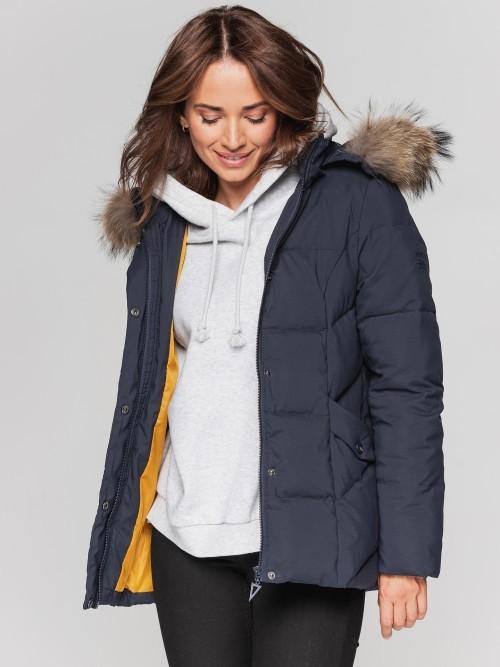 Krótka kurtka zimowa z jenotem