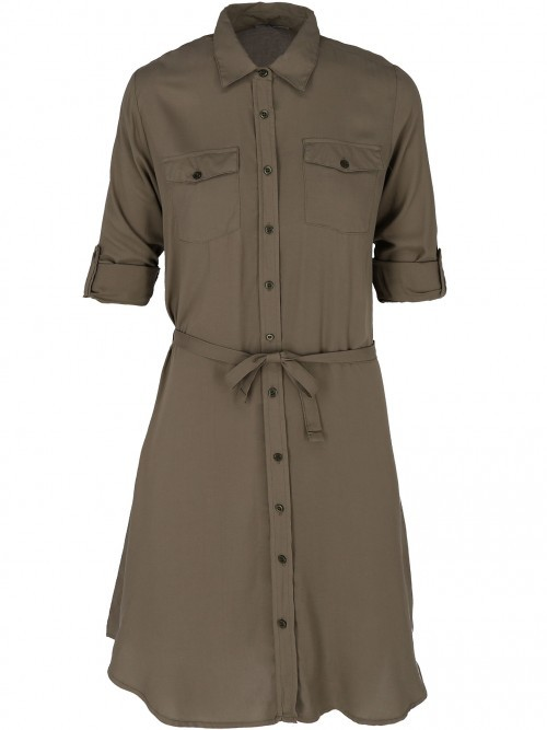 Sukienka letnia z kieszonkami